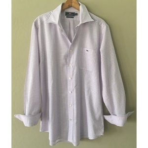 Vineyard vines slim fit tucker shirt size L